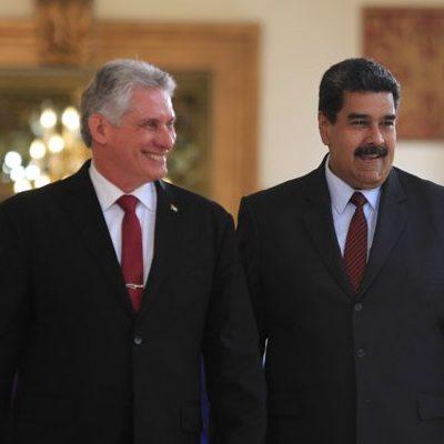 Presidentes de Cuba y Venezuela ampliarán las relaciones bilaterales