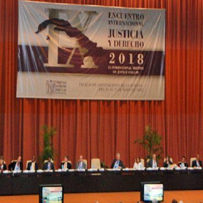 Venezuela presente en el IX Encuentro Internacional de Justicia y Derecho