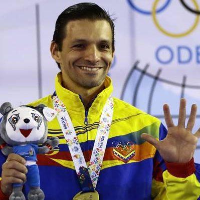 Antonio Díaz ganó oro y se proclamó pentacampeón de kata en los Suramericanos