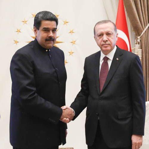 Nicolàs Maduro felicita a Recep Tayyip Erdogan por su victoria en las elecciones en la República de Turquía
