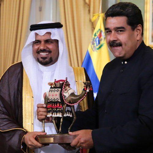 Presidente Maduro recibe cartas credenciales de embajadores