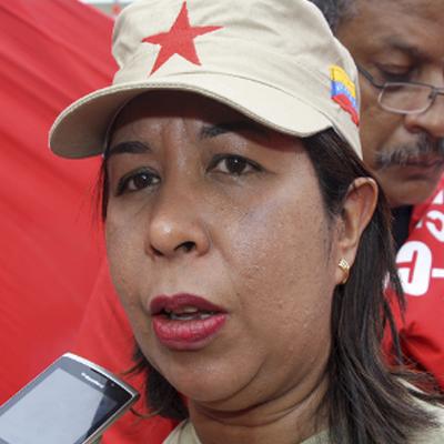 Mercedes Gutiérrez solicito al pueblo mantenerse firme en la lucha