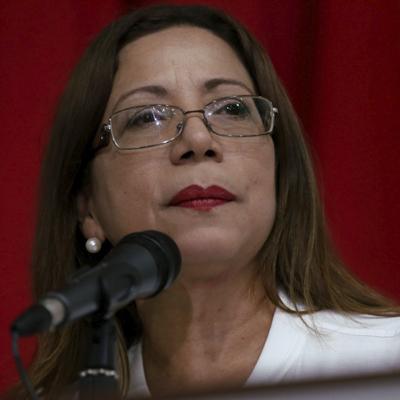 Tania Díaz indicó que la próxima ley constitucional será la guía de acción