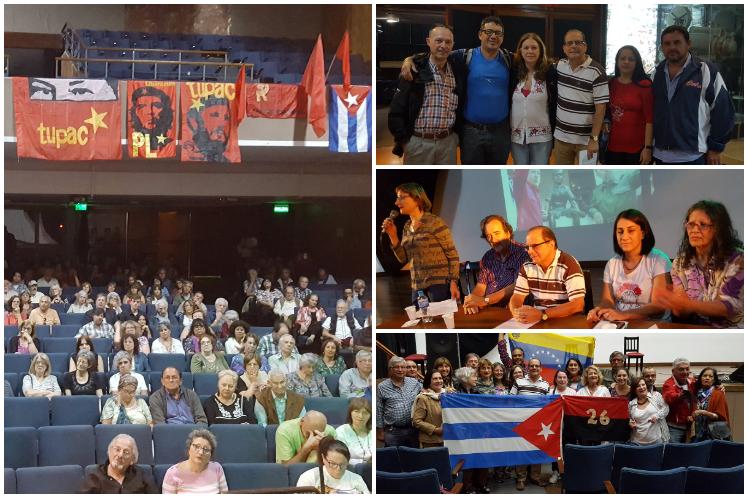 Argentina reitera solidaridad a Cuba y Venezuela