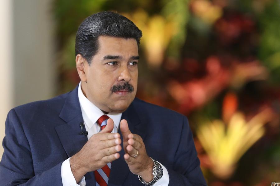 Maduro  anunció la creación de un estado mayor eléctrico