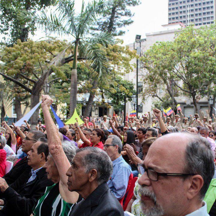 Aprobada creación de comisión que discutirá la transformación de símbolos de Caracas