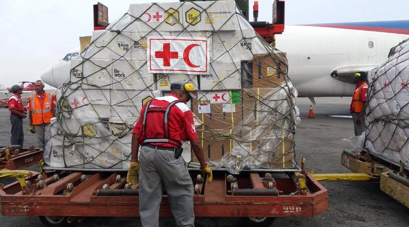 Llegó al país el primer cargamento de insumos médicos