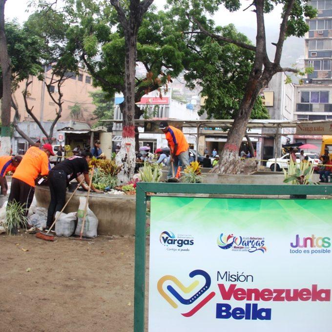 Gobierno municipal de Vargas supervisó trabajos de la Misión Venezuela Bella