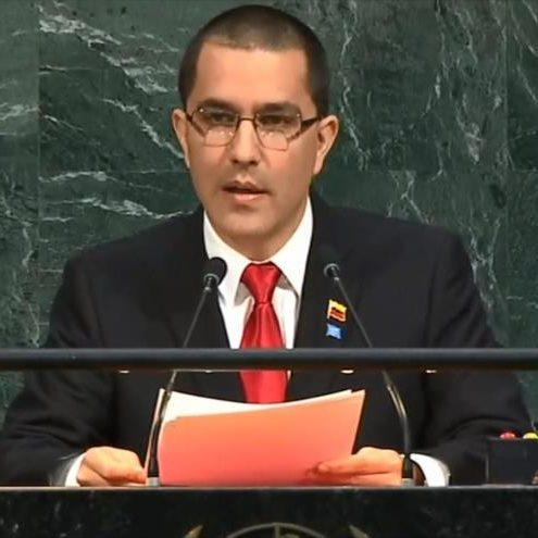 Arreaza, denunció ante la ONU consecuencias del bloqueo impuesto por EEUU