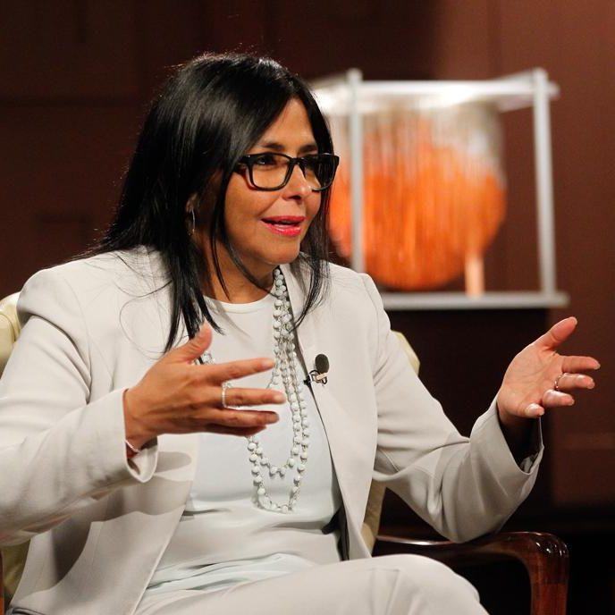 Delcy Rodríguez denuncia planes de agresión militar en contra de Venezuela