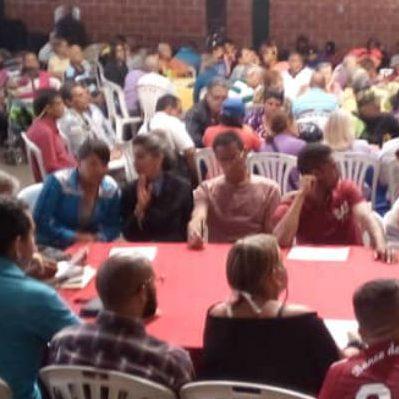 Gobernadores de Falcón y Portuguesa resaltaron lo aportes y propuestas de las bases populares durante Jornada de Diálogo y Acción