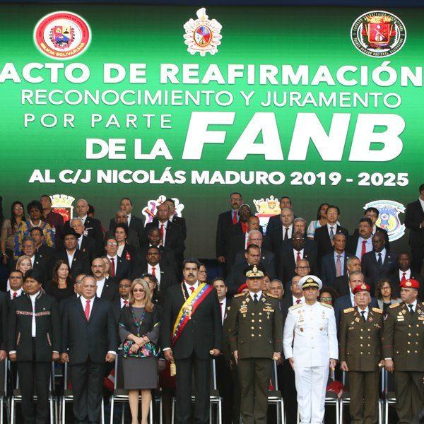Presidente Maduro: el imperio norteamericano busca corromper a la FANB