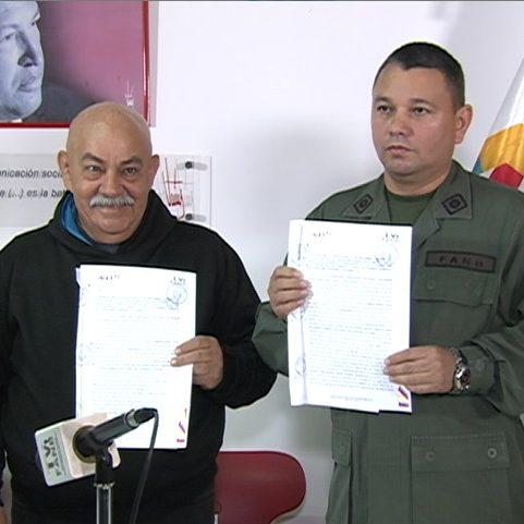 ANTV  y TVFANB firman convenio de cooperación para fortalecimiento comunicacional