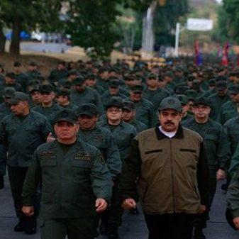 FANB ratifica su lealtad al Presidente Constitucional Nicolás Maduro