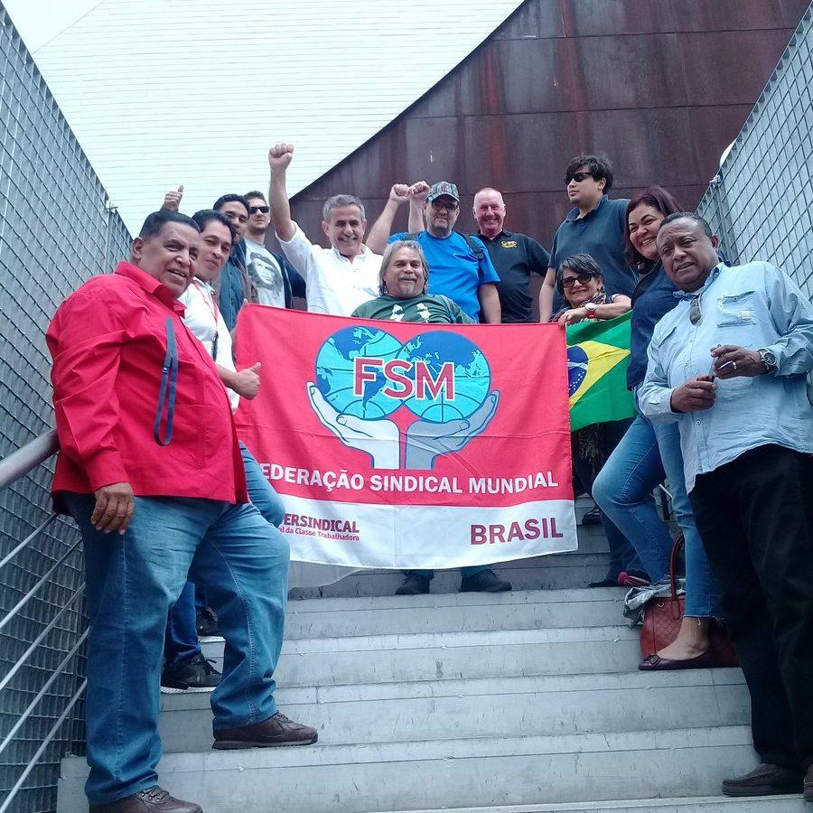 Encuentro mundial de transporte en apoyo al Presidente Nicolás Maduro