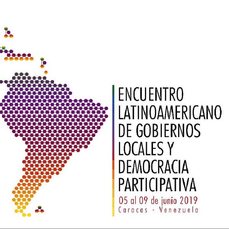Encuentro Latinoamericano de Gobiernos Locales y Democracia Participativa se realizará en Caracas