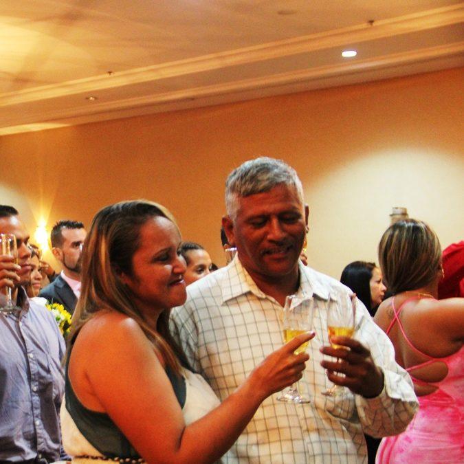 Alcalde Terán oficia séptima jornada de matrimonios colectivos