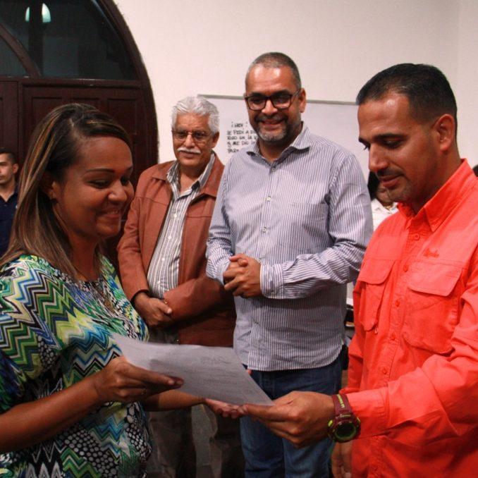 Alcaldía de Vargas apuesta por nuevos emprendimientos económicos y formaliza nuevos contribuyentes