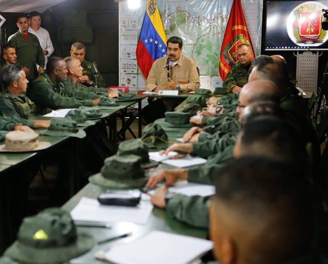 Presidente Nicolás Maduro: «Venezuela tiene quien la defienda de cualquier pretensión desestabilizadora y colonialista»