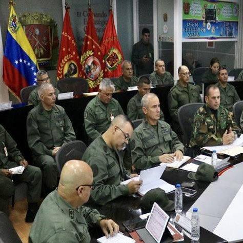 Fanb consolida estrategias para la defensa del espacio geográfico de Venezuela