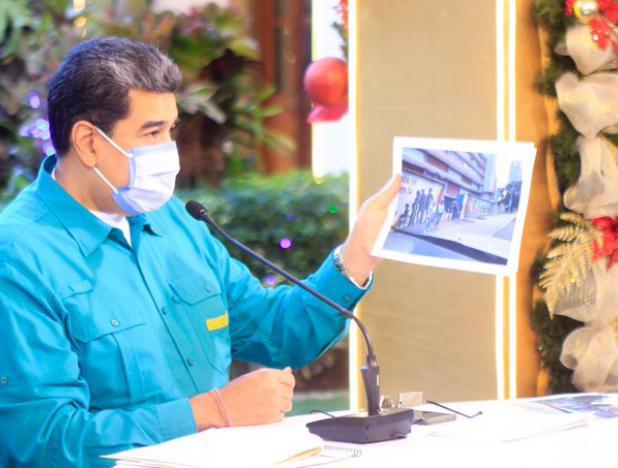 Maduro reitera llamado de mantener medidas de bioseguridad en época decembrina