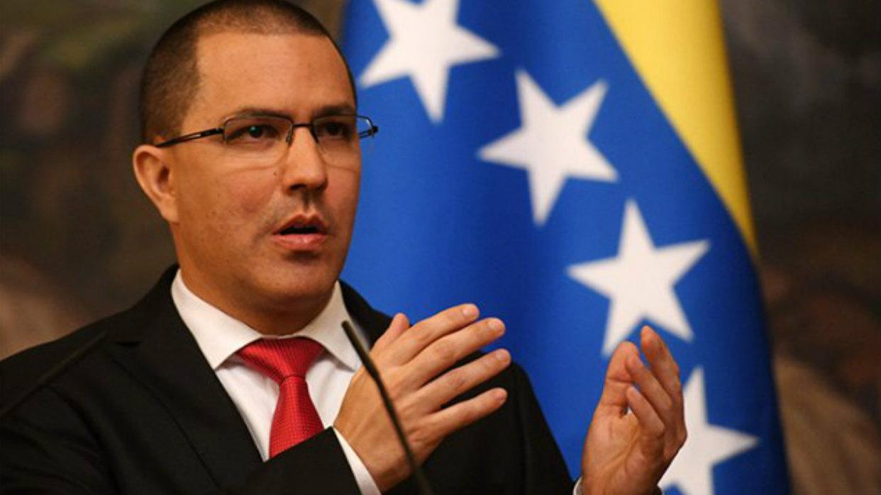 Arreaza rechazó nuevas sanciones de EEUU contra funcionarios venezolanos