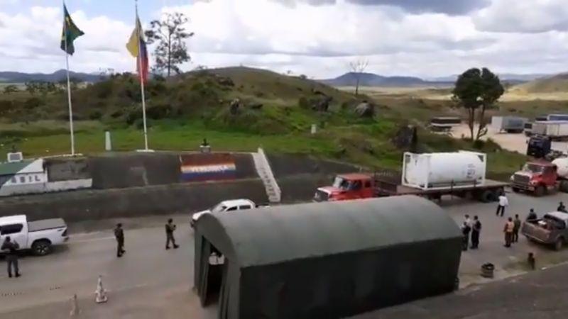 Llegó a Brasil primer cargamento de oxígeno proveniente de Venezuela
