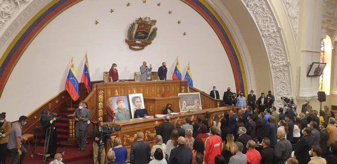 AN juramenta a diputados y diputadas en sesión ordinaria del Parlamento