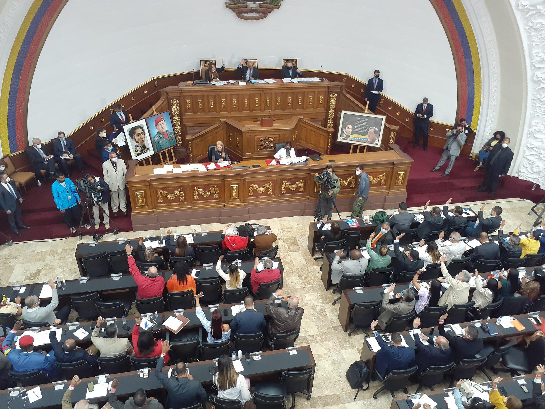 AN en pleno repudia acciones del Gobierno peruano contra venezolanos
