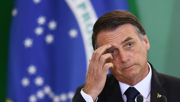 Bolsonaro: «Brasil está quebrado. Yo no consigo hacer nada»