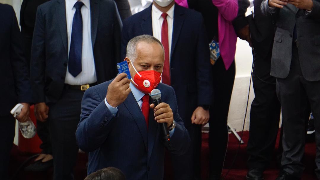 Diosdado Cabello: La nueva AN será un espacio para el cambio y la defensa del pueblo