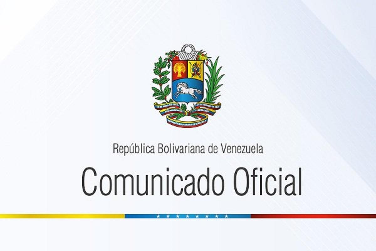 Comunicado Oficial sobre la conversación telefónica entre mandatarios de Venezuela y Rusia