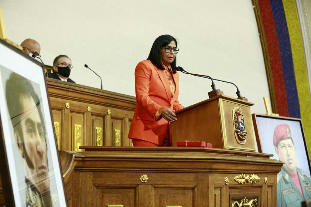 Delcy Rodríguez: Mientras el mundo luchaba contra la Covid-19 a Venezuela le recrudecían las sanciones