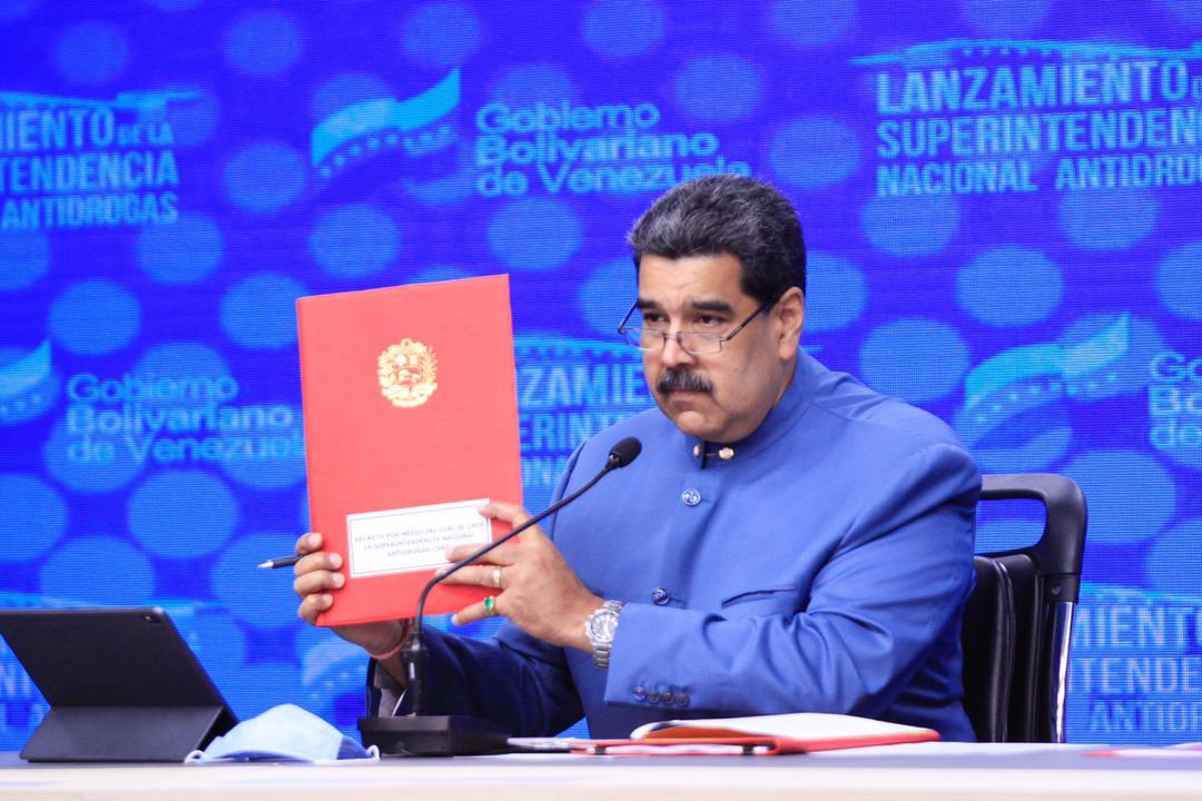 Presidente entregó a la AN anteproyecto de reforma de la Ley Orgánica de Drogas