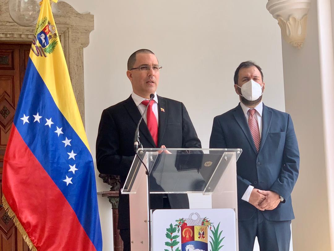 Venezuela entregó nota de protesta a Alemania, España, Francia y Países Bajos