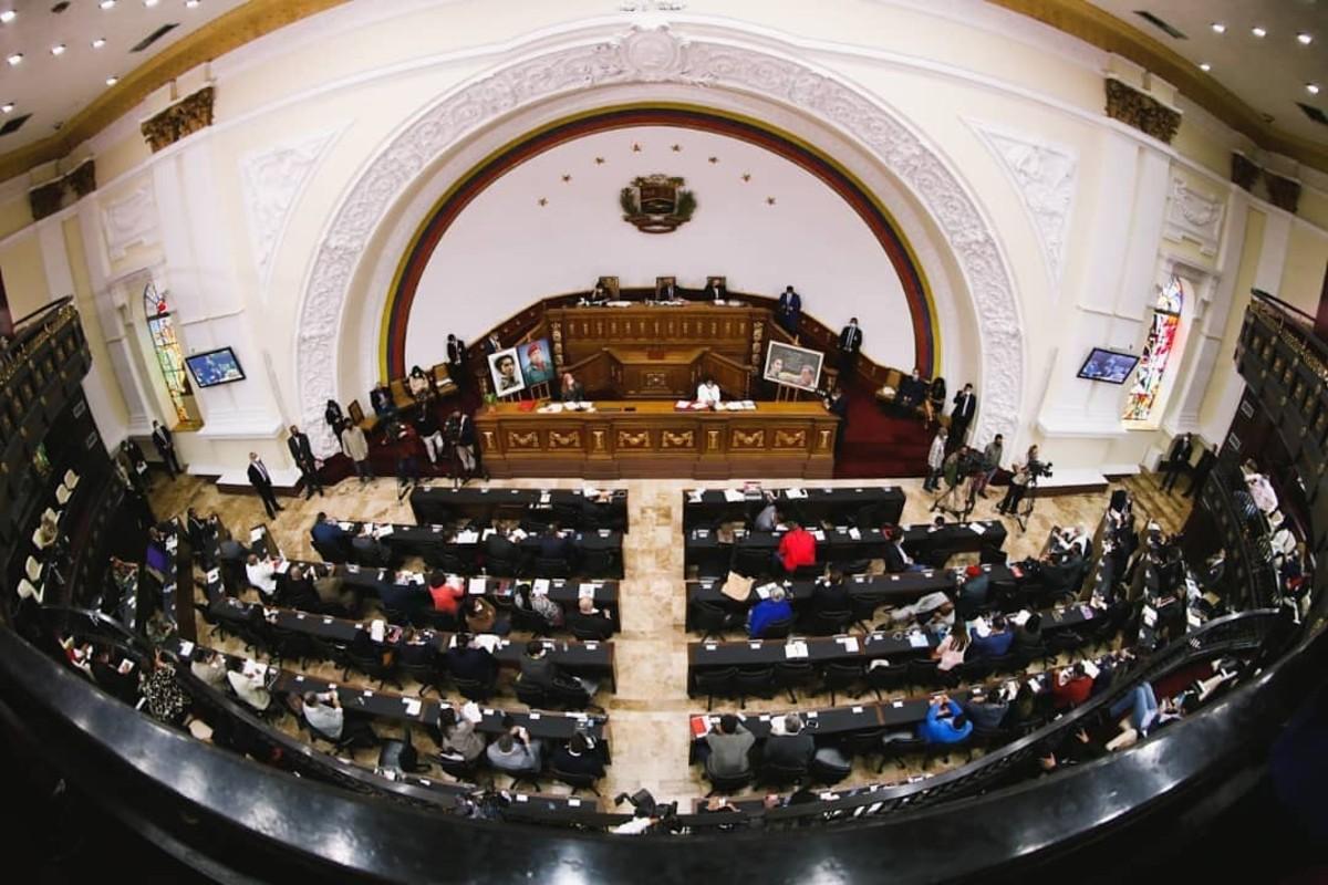 Parlamento venezolano suspende sesiones ordinarias durante semana de cuarentena
