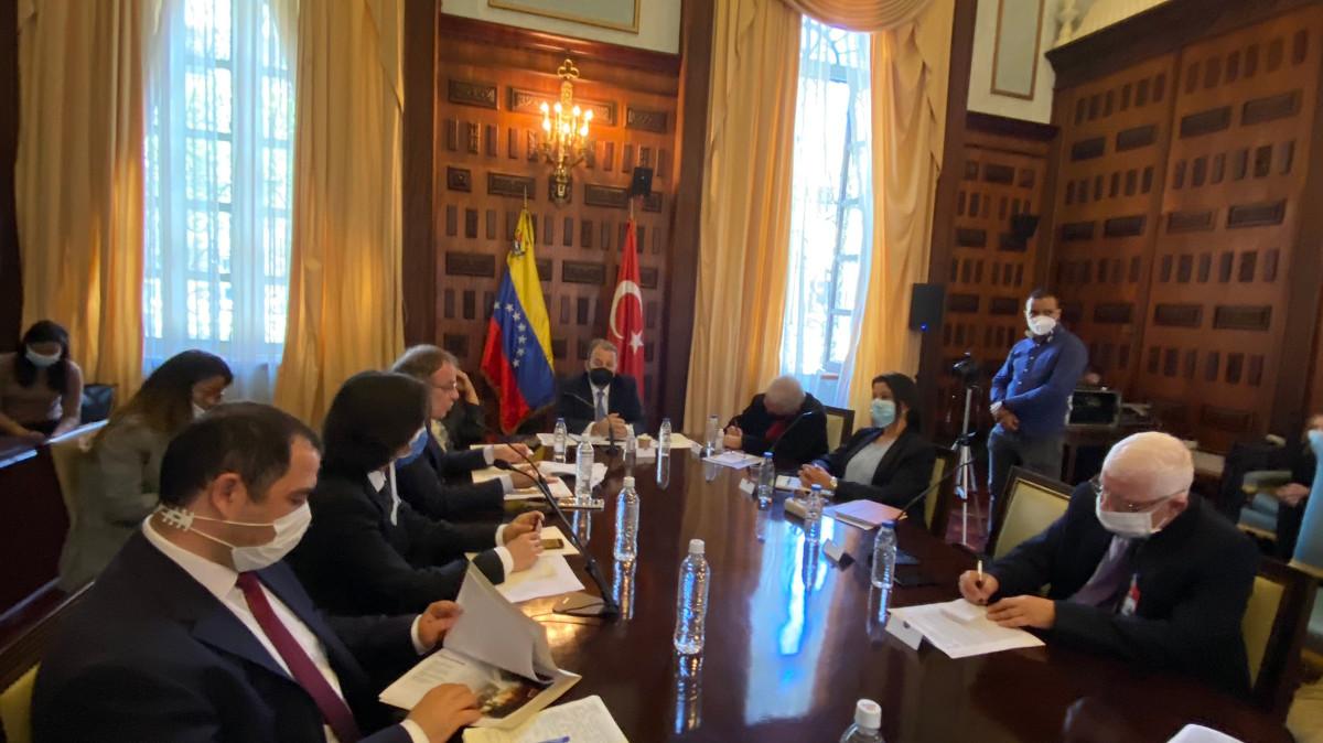 Plantean crear un grupo de amistad entre Venezuela y Turquía desde la Asamblea Nacional
