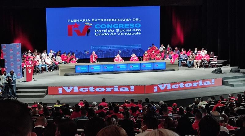 Inicia este viernes la Plenaria Extraordinaria del IV Congreso del PSUV