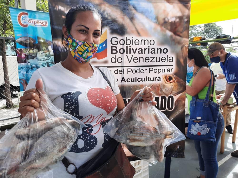 A partir del 15 de marzo iniciará distribución masiva de pescado en Venezuela