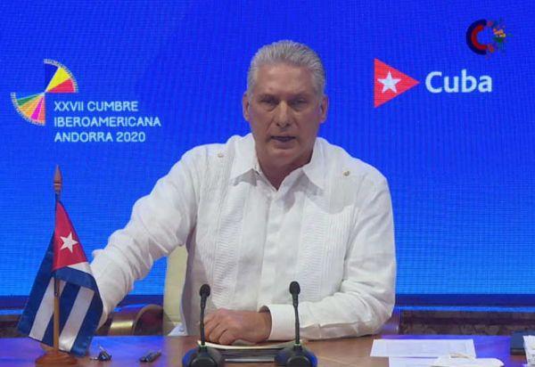 Cuba pidió cese de bloqueo contra Venezuela y respeto a su presidente