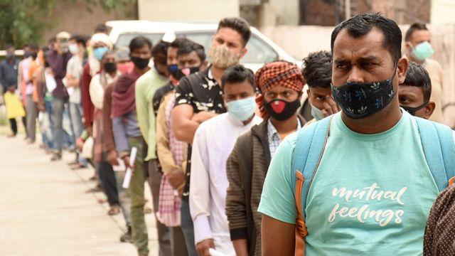 India supera el umbral de los 200 mil muertos por COVID-19