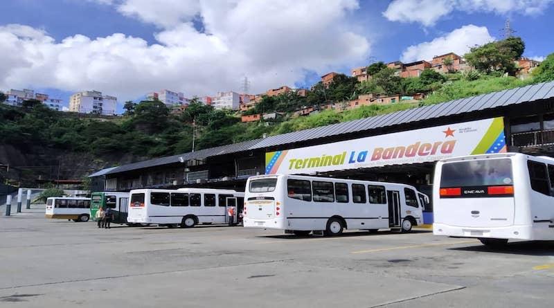 Transporte Interurbano funcionará durante semana de flexibilización a excepción desde y hacia Táchira y Bolívar