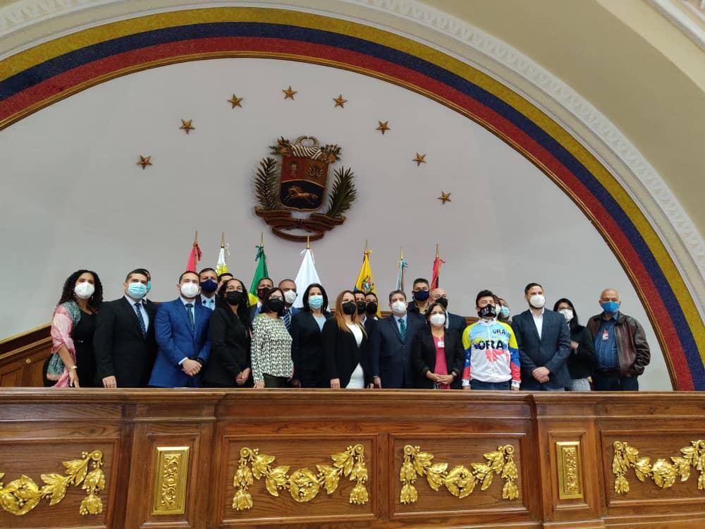 Asamblea Nacional instala delegación venezolana del Parlasur