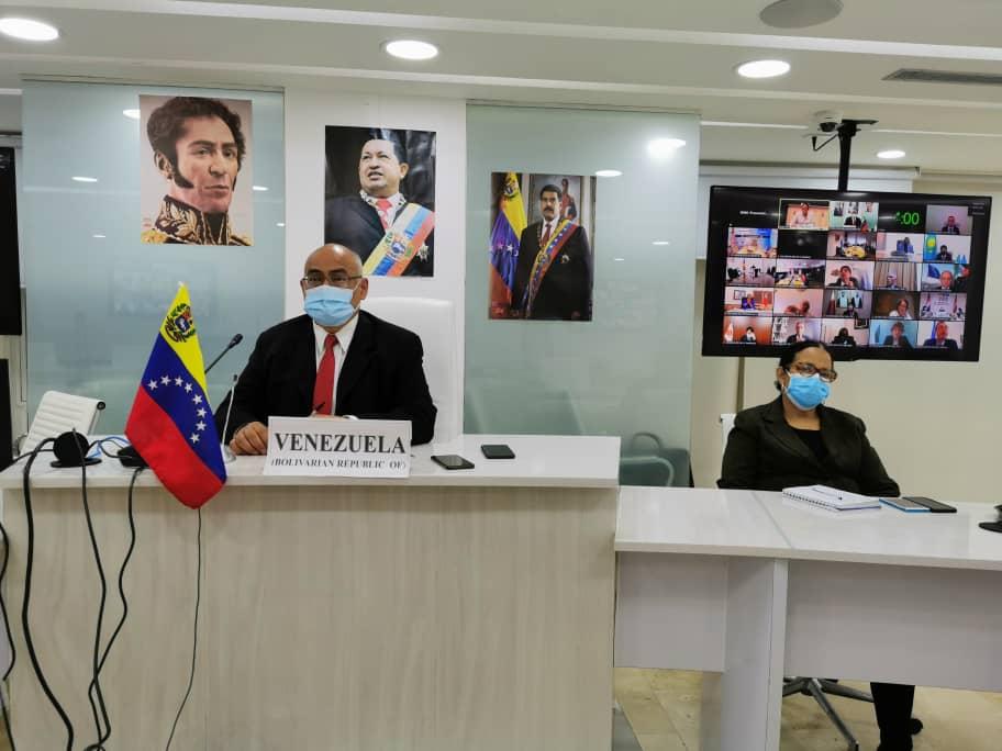 Venezuela exige cese del bloqueo en 74 Asamblea Mundial de la Salud