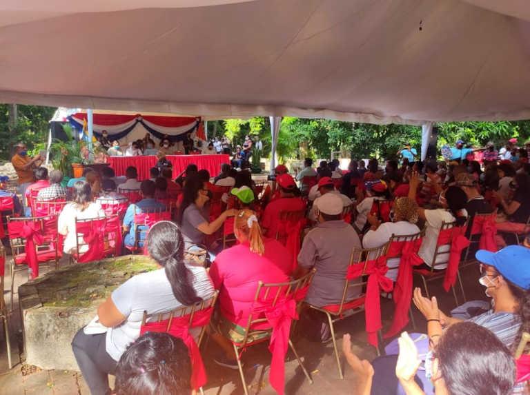 120 asambleas se realizaron en Yaracuy para Ley de Ciudades Comunales