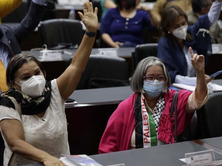Parlamentarios aprueban Acuerdo en Solidaridad con el Pueblo Palestino