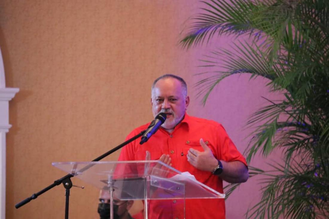 Cabello insistió en la unidad de los pueblos para derrotar al imperialismo