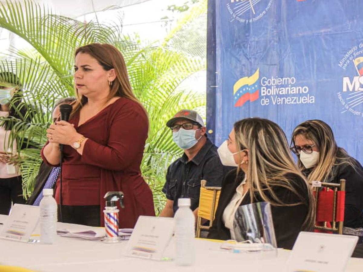 Iris Varela: llegó la hora de acelerar la administración de justicia