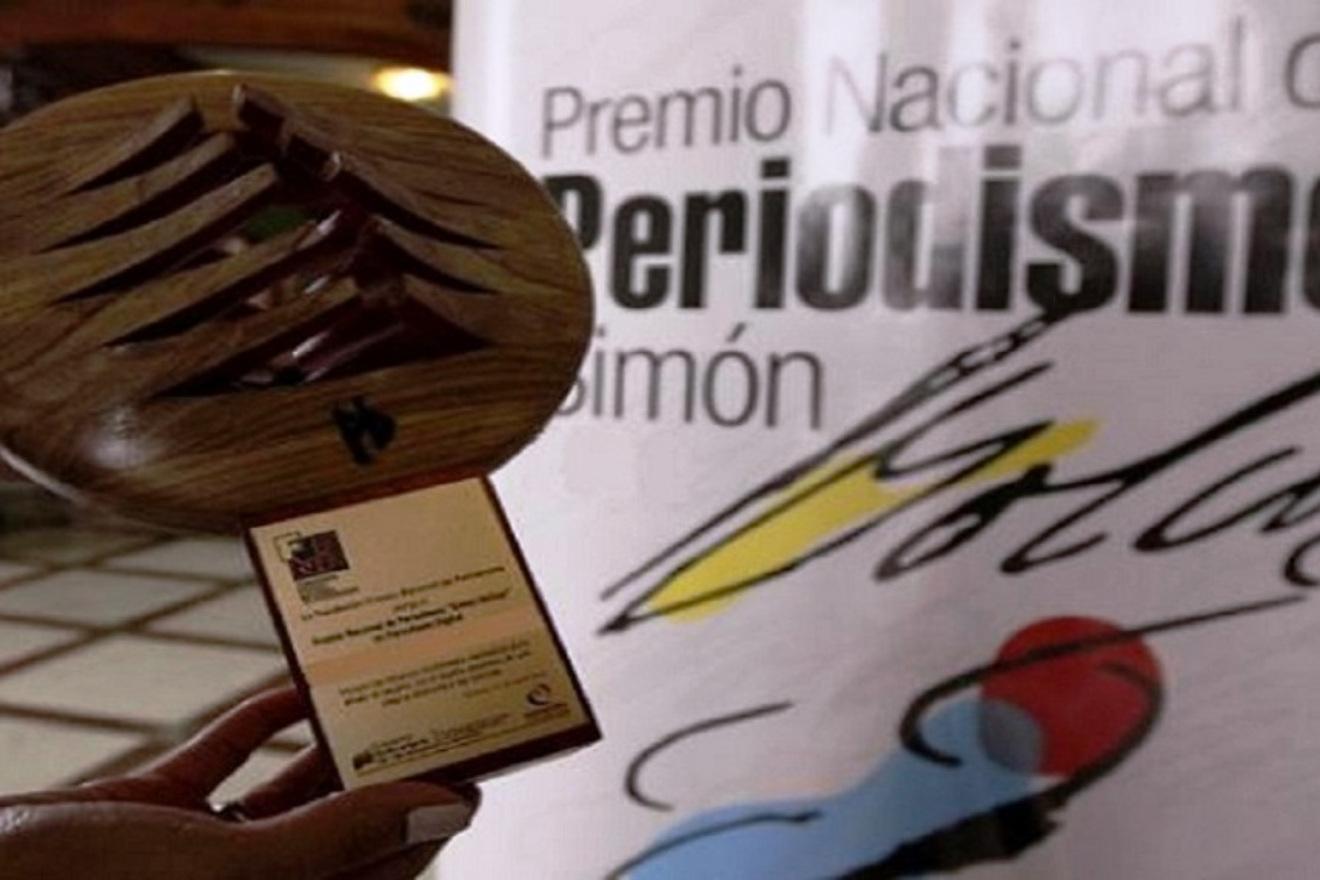 Conozca quiénes ganaron el Premio Nacional de Periodismo Simón Bolívar 2021