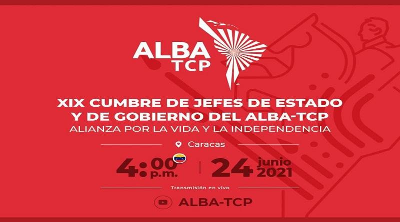 XIX Cumbre de Jefes de Estado y de Gobierno del ALBA-TCP se realizará este 24 de junio